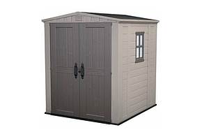 Mounting a garden shed