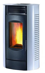 Placement of a pellet stove